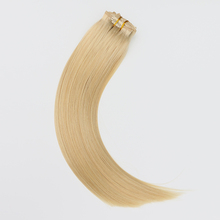 Remy 100% human clip in hair extensions for black woman