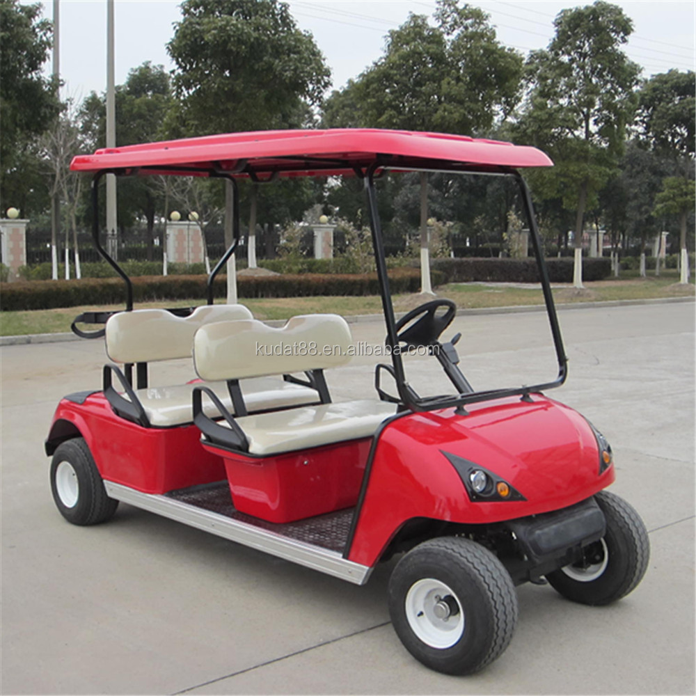 Electric 4 Persons Golf Cart Dg C4 With Ce Certification