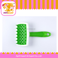 2015 hot product pet rubber massage brush for dog and cat petlover
