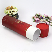D8*H29cm Wine Tube 750ml Wine Gift Box
