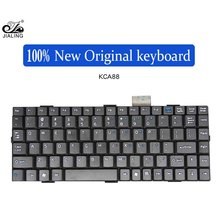88 keys black Danish layout medical laptop keyboard with PCB board and usb cable
