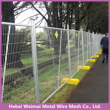Free standing galvanized temporary wire mesh fence panels