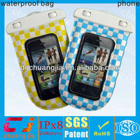 Smartphone waterproof case for mobile phones with ipx8 certificate