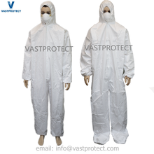 Breathable durable waterproof disposable painting uniform