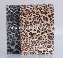 LEOPARD PATTERN HAND GRIP CASE COVER FOR APPLE IPAD MINI