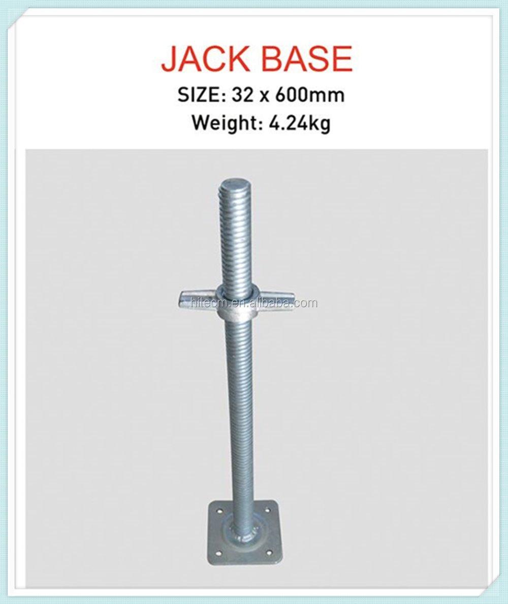 Screw Jacks For Shoring : Qingdao manufacturers steel jack screw buy