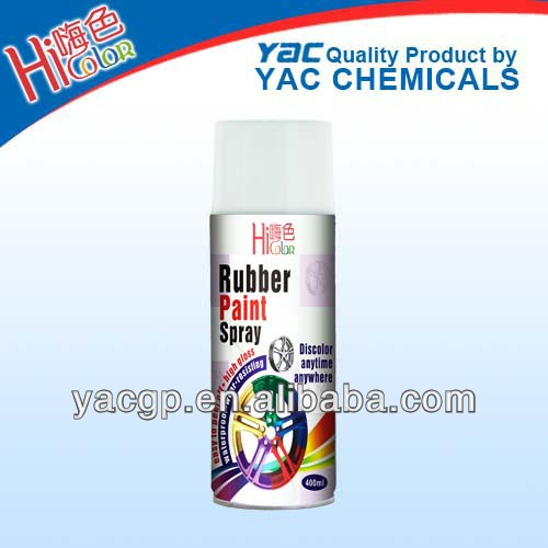 400ml peelable rubber paint spray for car from China car care OEM