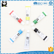 6pcs high quality 12ml acrylic color paint set price free sample