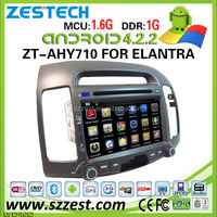 ZESTECH car dvd player for Hyundai elantra car dvd player Android 4.2.2 capacitive multi touch screen