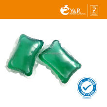 Eco-friendly laundry detergent pod for baby washing