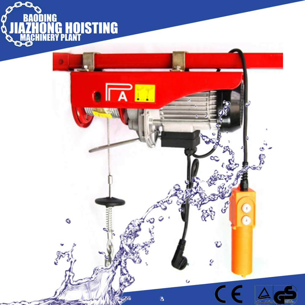 mini electric hoist 100kg china factory