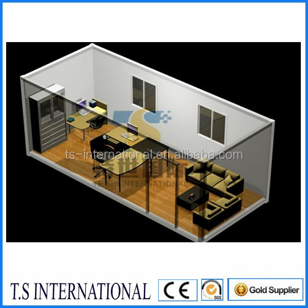 2014 new prefab Modular shipping container homes for sale made in india