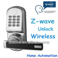 Z-wave Security Lock Integrate Into Mi Casa, Fibaro Gateway