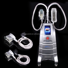 ETG50-4S 4 handles cryo machine with operation video,Cryolipolysis+Heating System+Photon Therapy+3 or 4 Handpieces