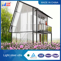 Good quality prefabricated house villa / resort
