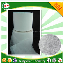 China supplier baby nappy adult diaper and sanitary napkin top sheet raw material of hydrophilic non woven fabric