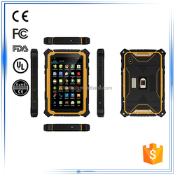7 inch1.2GHz quad core (corte x a7) 3G Bluetooth GPS WIFI Compass Gyroscope G-Sensor Android rugged industrial tablet