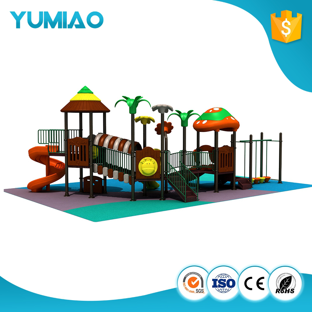 2017 hot funny kids used amusement park plastic palyground equipment for school uesd