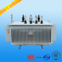 oil immerse distribution transformer S(B)H15 amorphous alloy core transformer