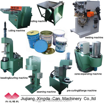 10-20L paint can making machine manufacturer