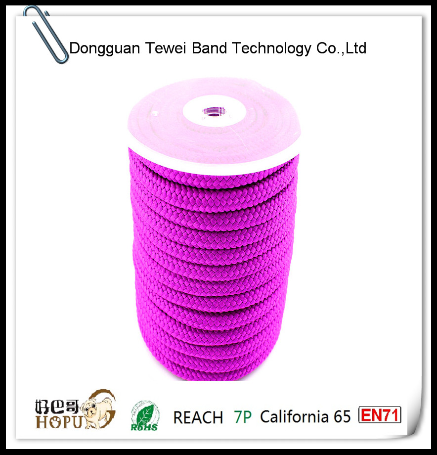 New Arrival PMS/TPX matched hollow nylon rope paper bag handle China manufacturer