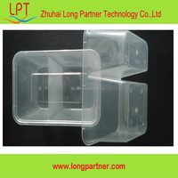 New PP plastic food storage container with divider