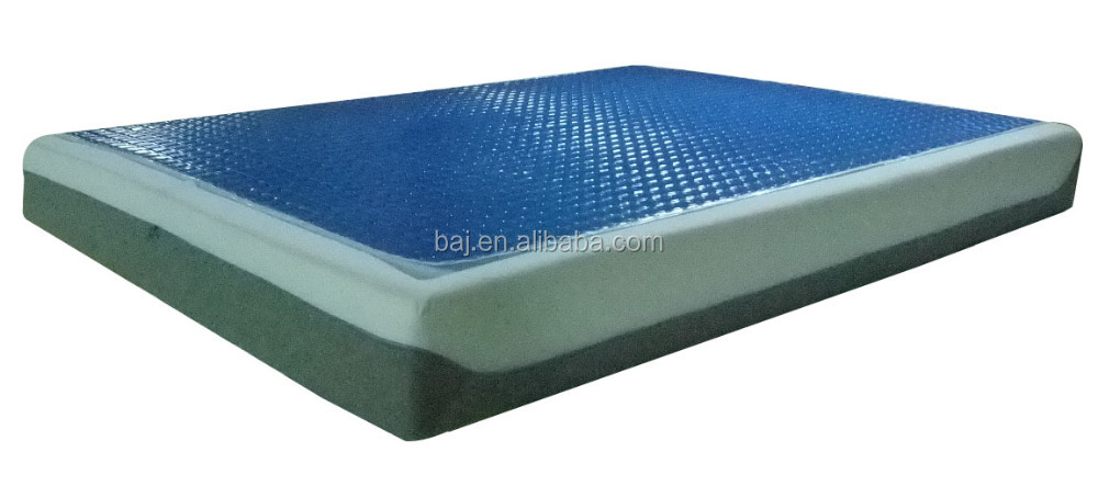 Super comform delux all season use memory foam cool silicon gel cooling mattress