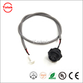 Alpha 1172C 22AWG cable assembly with 3P waterproof connector