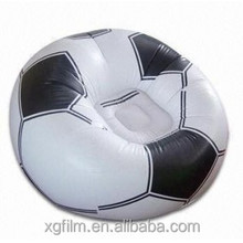 Shanghai Xinggen hot sale children TPU inflatable soccer sofa