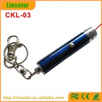 Promotional 1mw 5mw CE RoHS Red Laser Pointer with Keychain
