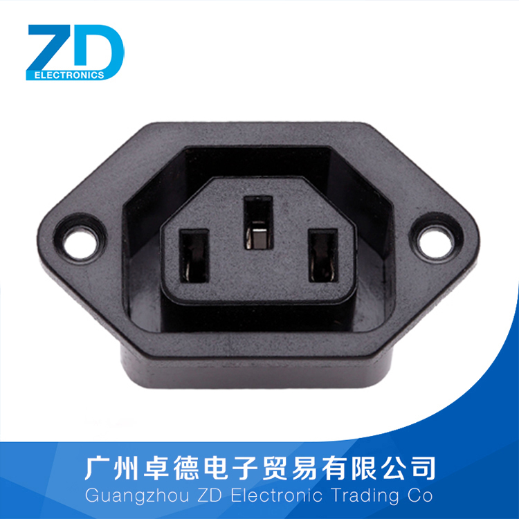 B14 AC Power Electrical Socket Outlet Power Connector