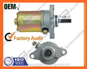 Motorcycle Starter Motor Parts for Yamaha BWS100