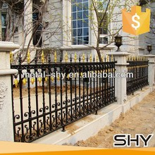 decorative used wrought iron fence garden fence panel