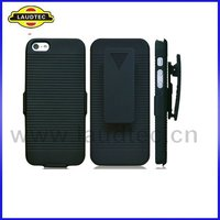 2012 New Stylish Belt Mobile Phone Case,Hard Clip Case for Apple IPhone 5 5G