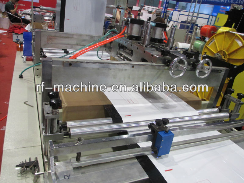 RFKD-800 DHL poly express courier bag making machine