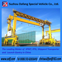 Rubber Tyre container gantry crane, container lifting cranes