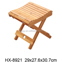 Small Foldable Bamboo Stool