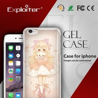 Shenzhen custom design cell phone plastic case for eyelashes