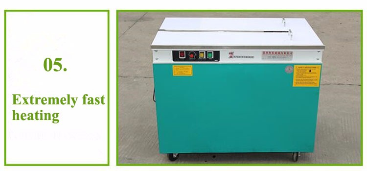 New Condition Semi-Automatic Currency Banknote Strapping Machine