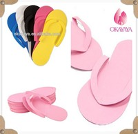 Nonskid Spray tanning slipper, disposable spray taning sticky feet, Hot Sell Popular Topless Sticky Beach Nude Sandals