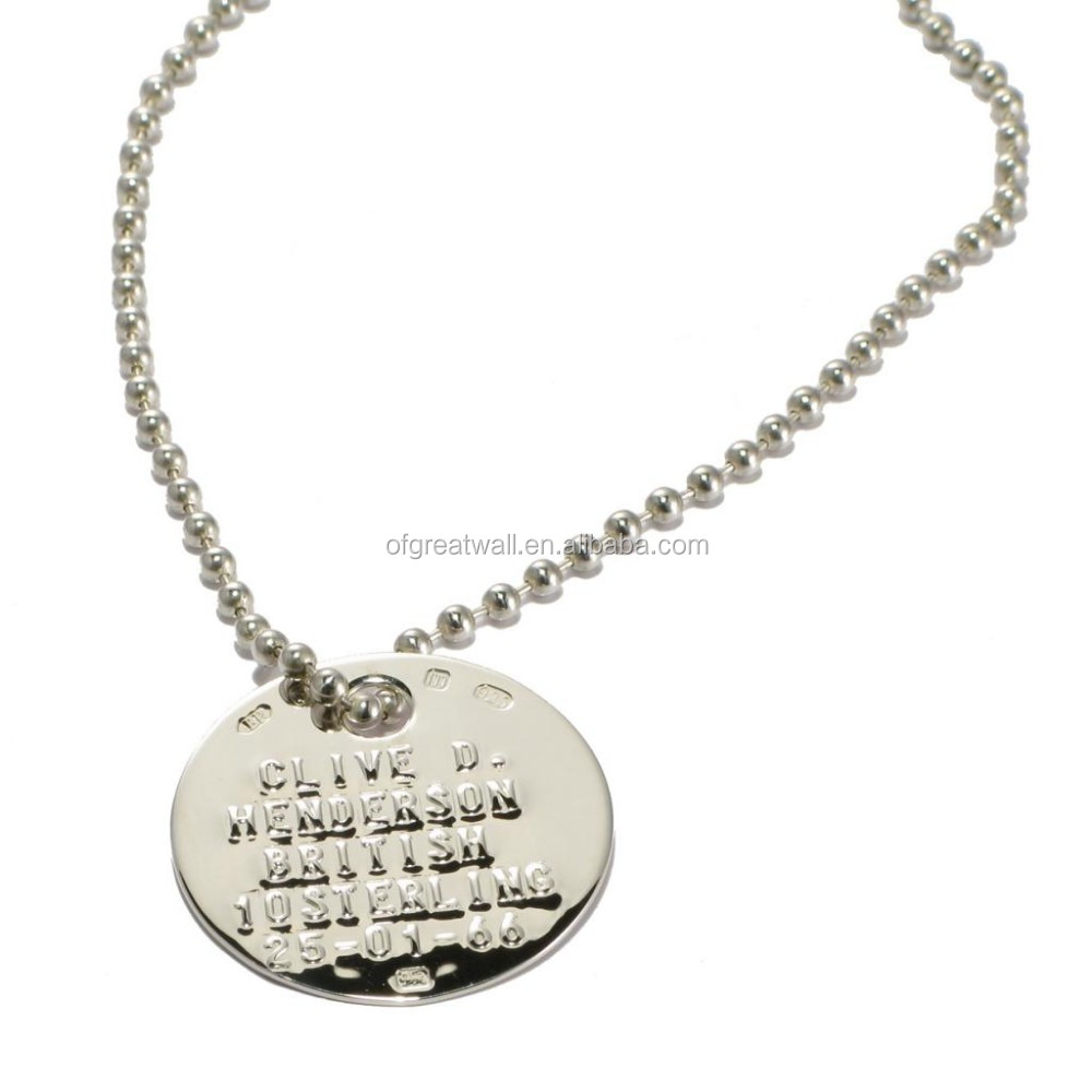 New promotional products military dog tag