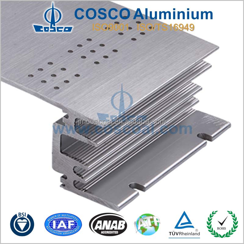 High quality Extruded Aluminium Radiator Profile