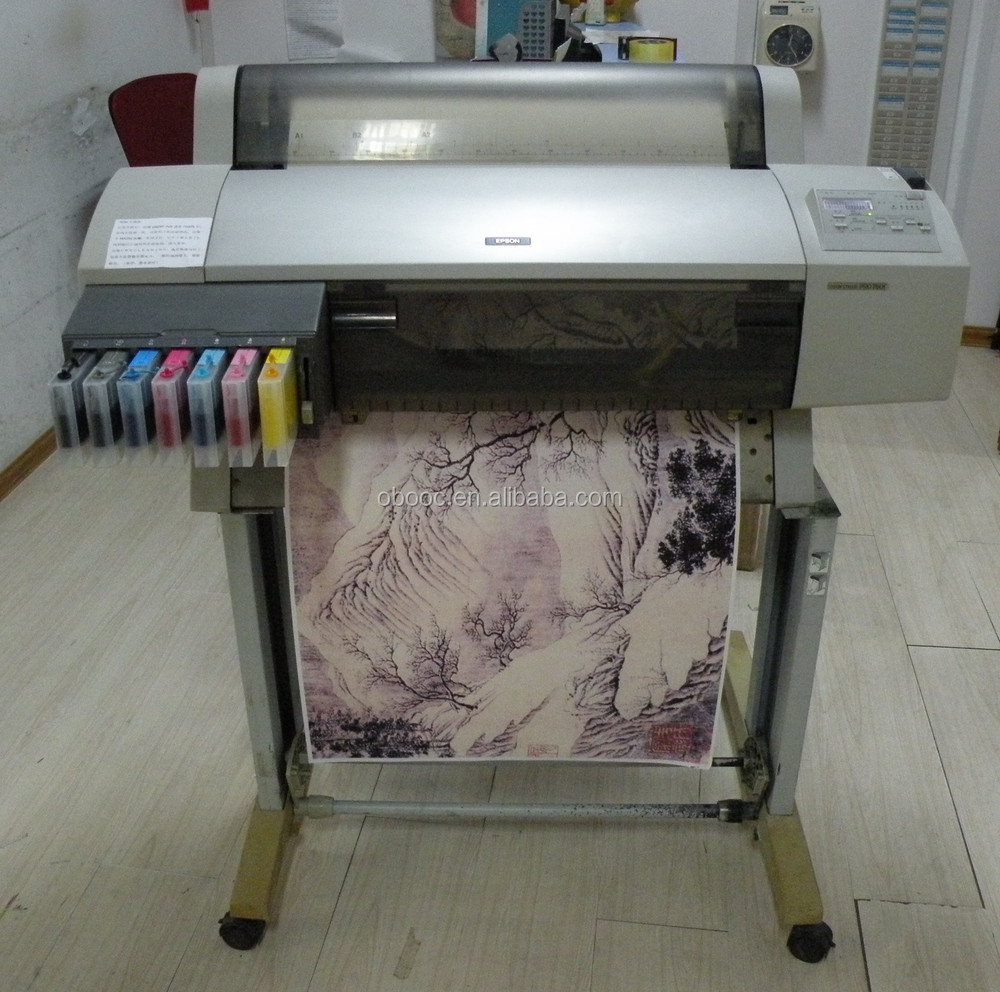 Used Large A1 Sublimation Textile Printers 7600 for Tshirt, Garment, Fabric Transfering