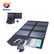 60w BSCI solar powered phone charger with CE certificate