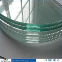 10mm Low Iron /Ultra Clear Tempered Glass with CE/CCC/ISO Certificate
