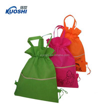 non woven advertising drawstring shoe bags