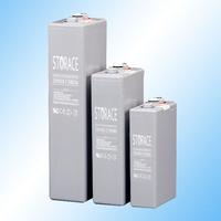 Tubular GEl battery, 2v 1500ah OPZV battery