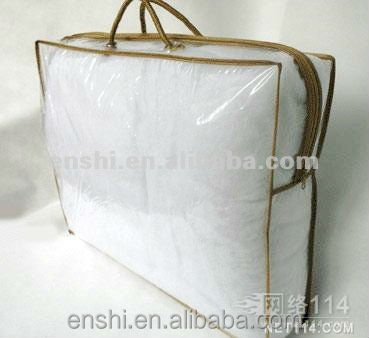 China manufacturer soft plastic bag for packaging summer quilts