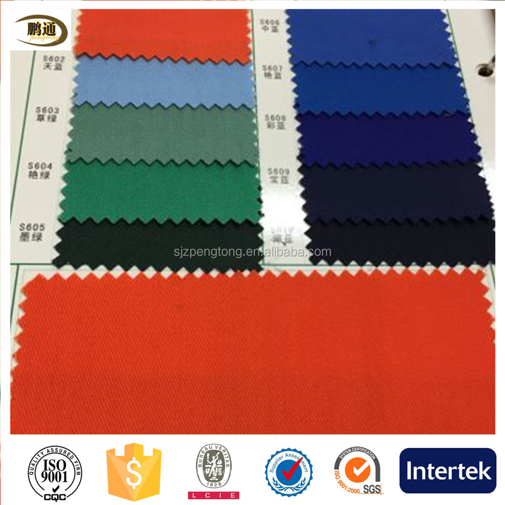 cotton polyester ripstop blend fabric for workwear fabric and A military uniform fabrics