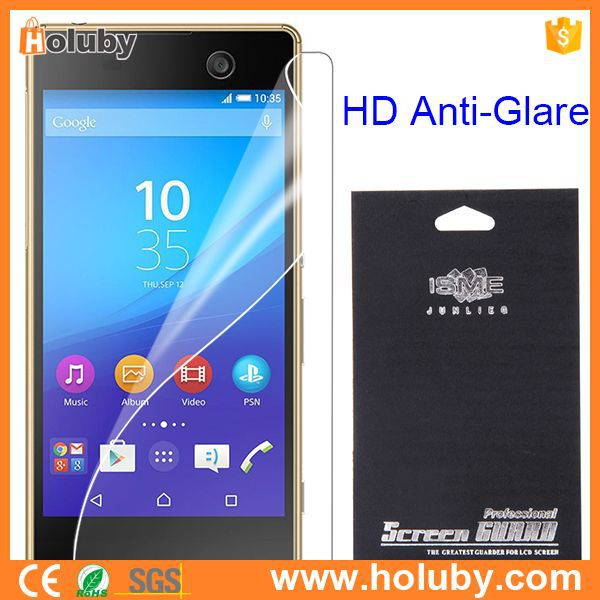 Screen Protector for Sony Xperia M5,HD Anti-glare Guard Film Screen Protector for Sony Xperia M5